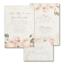 Warm Roses - ValStyle Invitation - White