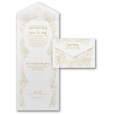 All In One Invitation: Champagne Celebrations