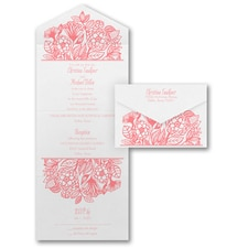 With RSVP Cards: Flower Dreams