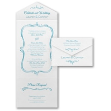 With RSVP Cards: Love Reflection