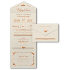 With RSVP Cards: Our Special Day