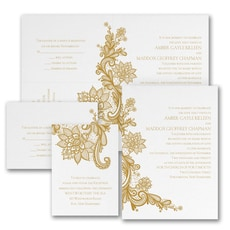 With RSVP Cards: Loving Memories