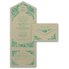 rustic invitation: Painted Romance