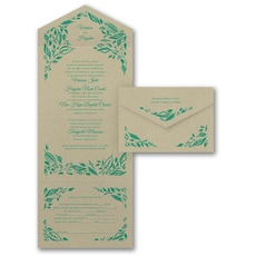 With RSVP Cards: Painted Romance