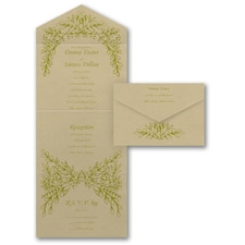 With RSVP Cards: Artistic Vines
