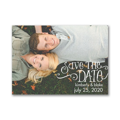 Forever and Always - Save the Date Card
