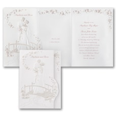 Crossing the Bridge - Wedding Invitation