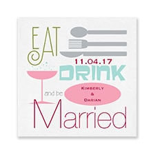 Wedding Merriment - Napkin