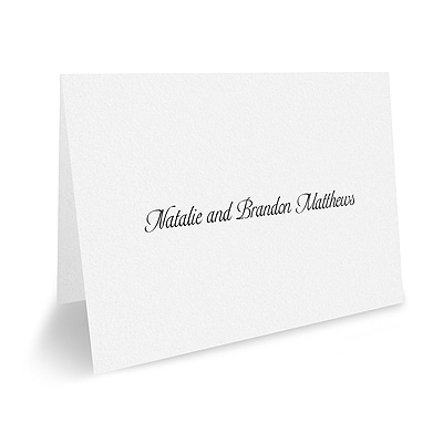Note Folder and Envelope - White