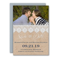 Romantic Lace - Save The Date