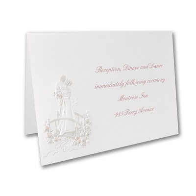 Crossing the Bridge - Reception Card