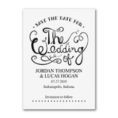 Celebrate the Wedding - Save The Date
