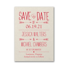 Modern Type - Save The Date