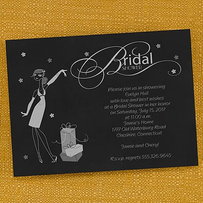 Glamorous Bridal Shower - Invitation