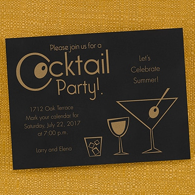 Cocktail Party - Invitation