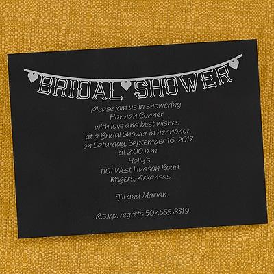 Bridal Shower Banner - Invitation