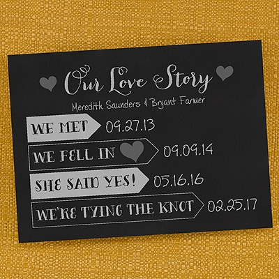 Our Love Story - Announcement