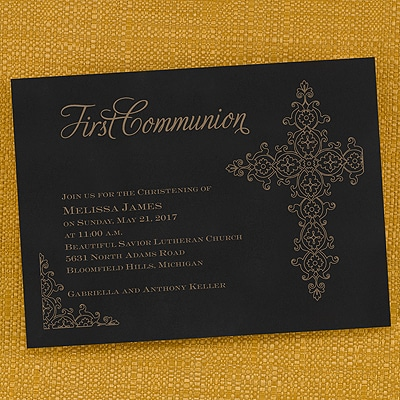 First Communion - Invitation