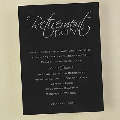 Retirement Celebration - Invitation