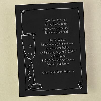 Cheers - Invitation