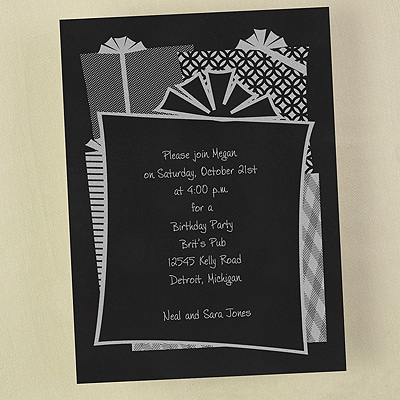 Celebration Fun - Invitation