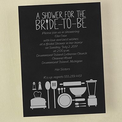 Bride-To-Be Shower - Invitation