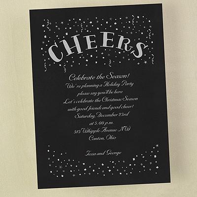 Confetti Cheers - Invitation