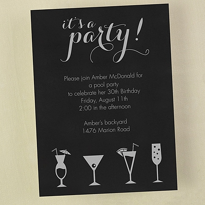 It's a Cocktail Party - Invitation