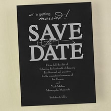 Save the Date Words