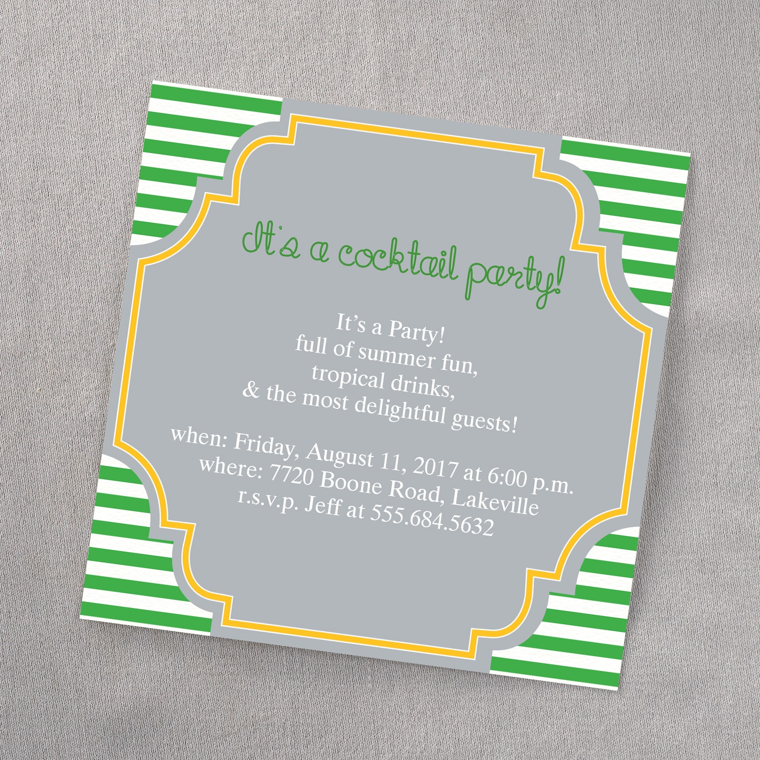 Cocktails and conversation invitation theme parties carlson cocktails and conversation invitation stopboris Choice Image