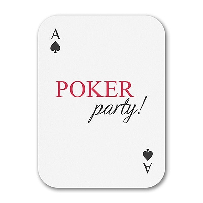 Poker Party - Invitation