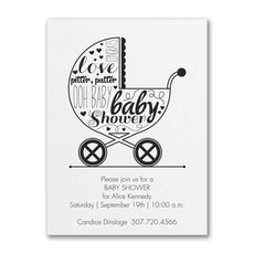 Baby Buggy Shower -