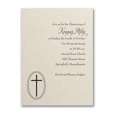 Baptism Christening Invitation: Baptism