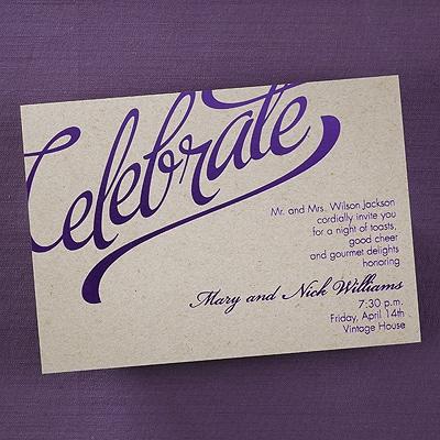 Celebrate - Invitation