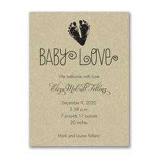 Baby Love Footprints -