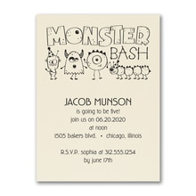 Birthday Monster Bash