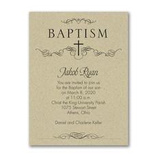 Classic Baptism -