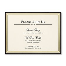 Classic Border - Party Invitation