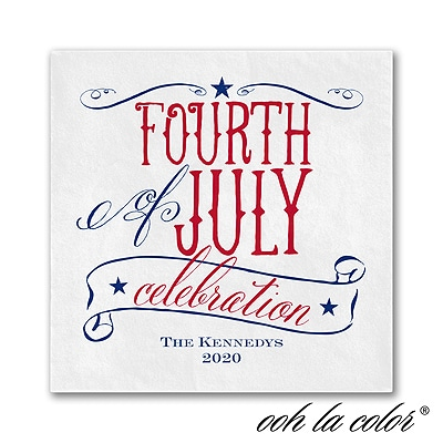 Patriotic Type - Napkin