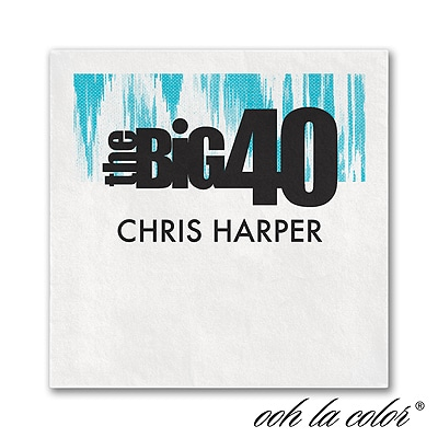 The Big 40 - Napkin