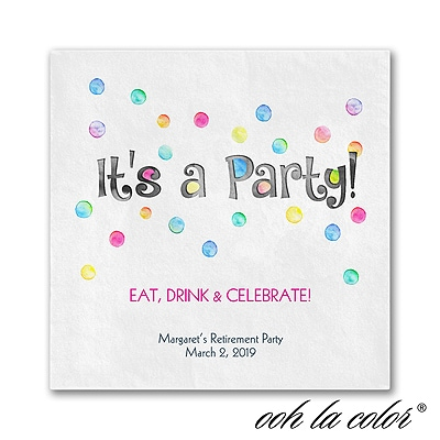 Party Dots - Napkin