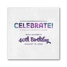 Shades of Celebrate - Napkin