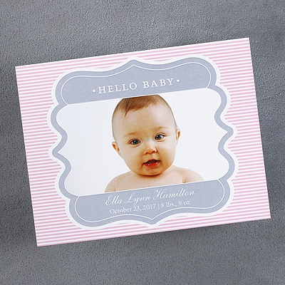 Sweet Frame - Magnet Announcement - Pink