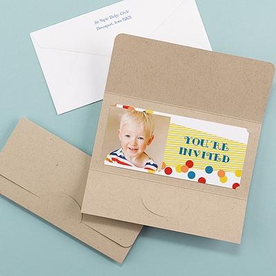 Confetti Celebration - Invitation