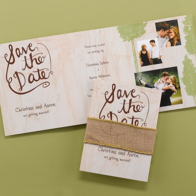 Rustic Band - Save the Date