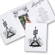 City of Love - Invitation with Photo