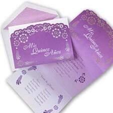 Lovely Lavender - Invitation