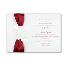 Charming Rose - Invitation