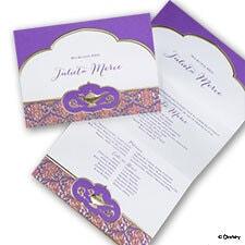 Whimsical Wish - Jasmine - Invitation