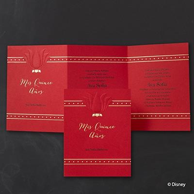 Lovely Lily - Mulan - Invitation